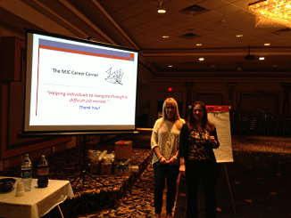 """Michelle A. Riklan presenting """"Resumes 101"""" in Central NJ."""