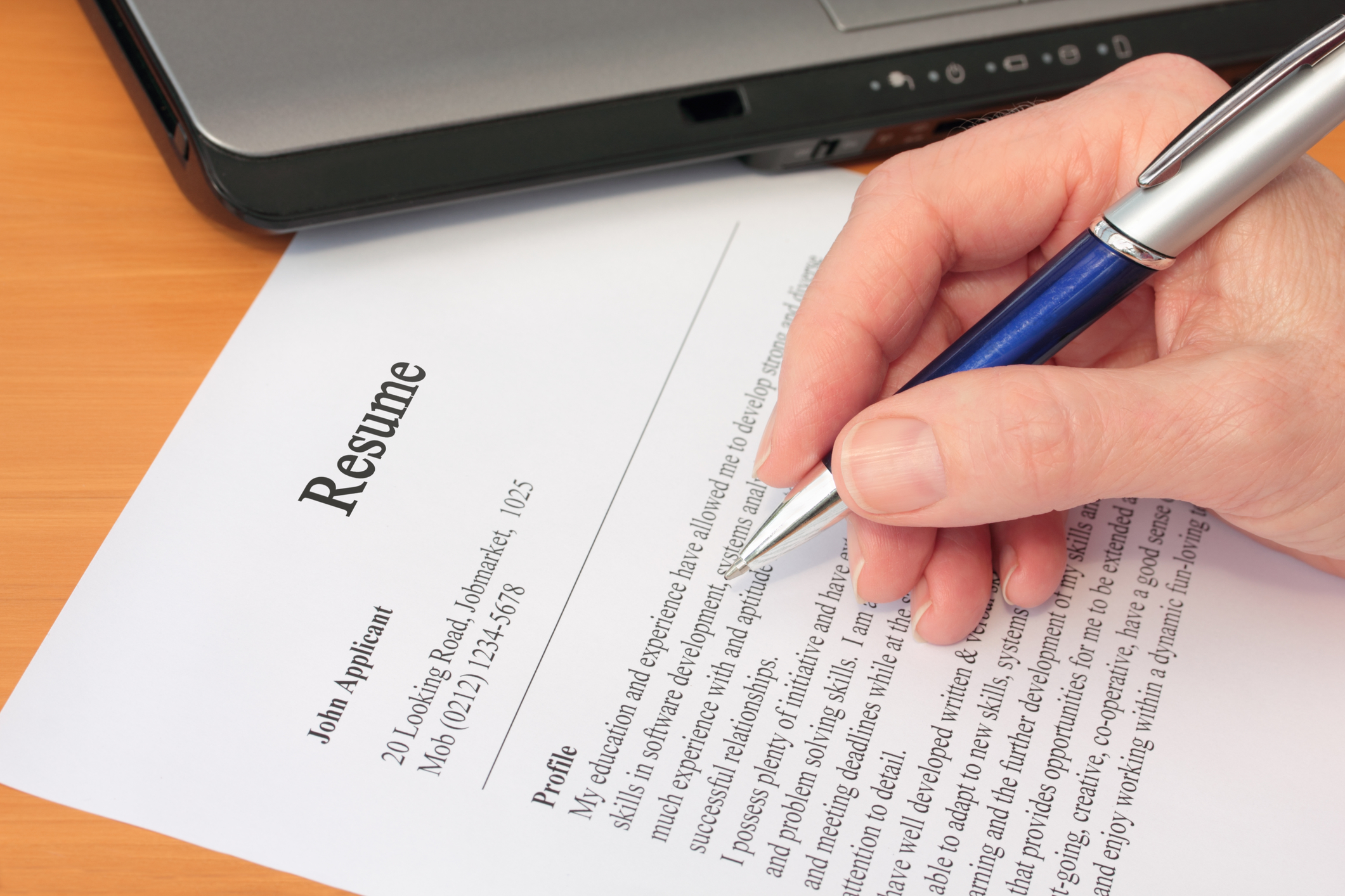 six tips for proofreading your resume